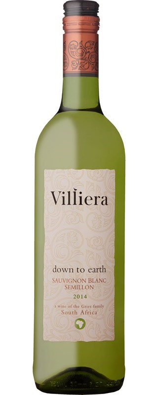 Villiera Down to Earth White 2014