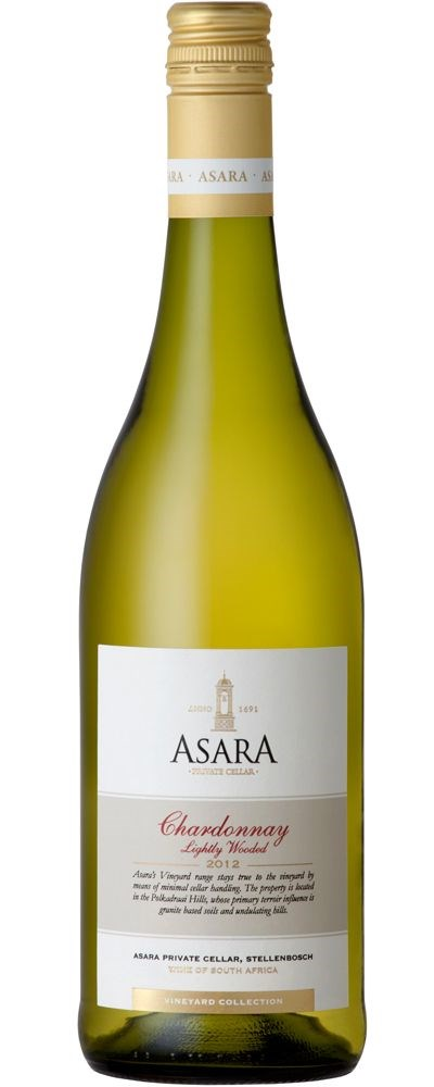 Asara Vineyard Collection Chardonnay Lightly Wooded 2012
