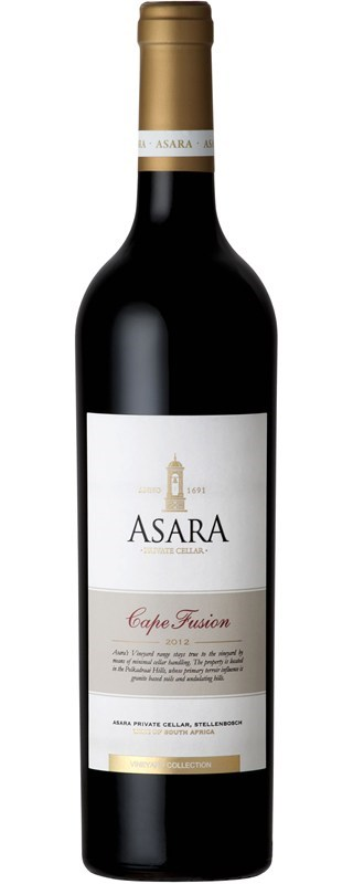 Asara Vineyard Collection Cape Fusion 2012