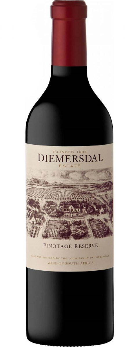Diemersdal Pinotage Reserve 2012 SOLD OUT