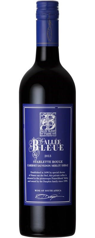 Allee Bleue Starlette Rouge 2013