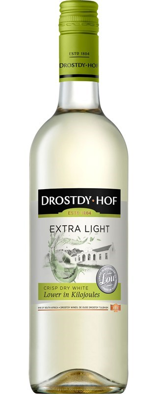 Drostdy Hof Extra Light Dry White NV 375ML