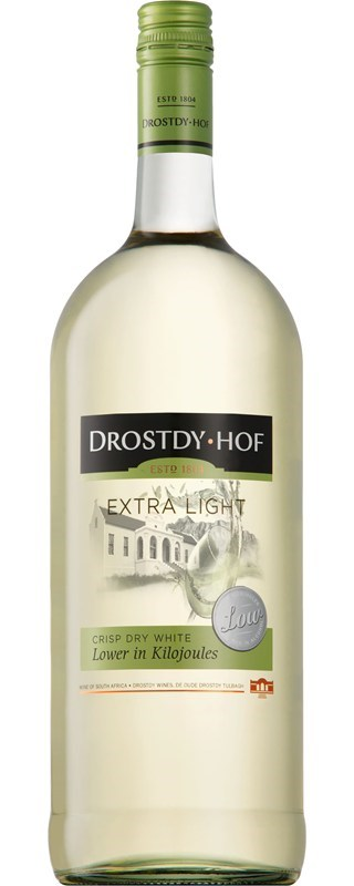 Drostdy Hof Extra Light Dry White NV 1.5L