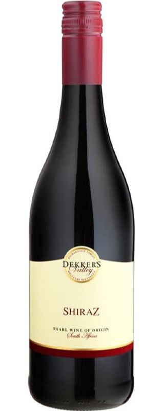 Dekker's Valley Shiraz 2012