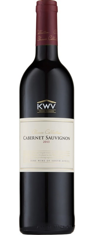 KWV Classic Collection Cabernet Sauvignon 2013