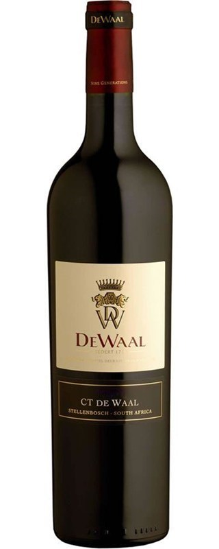DeWaal CT de Waal Pinotage 2013 - SOLD OUT