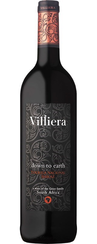 Villiera Down to Earth Red 2014