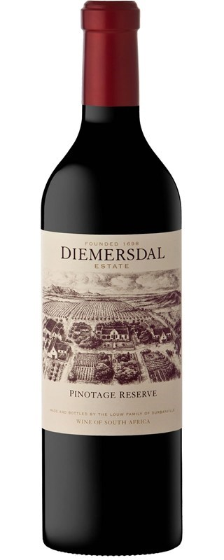 Diemersdal Pinotage Reserve 2014  SOLD OUT
