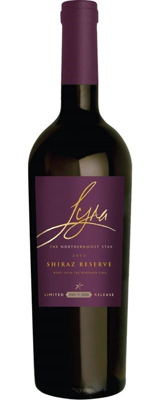 Orange River Cellars Lyra Shiraz Reserve 2013
