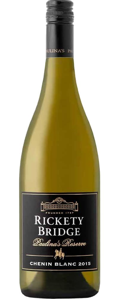 Rickety Bridge Paulina's Reserve Chenin Blanc 2015 - SOLD OUT