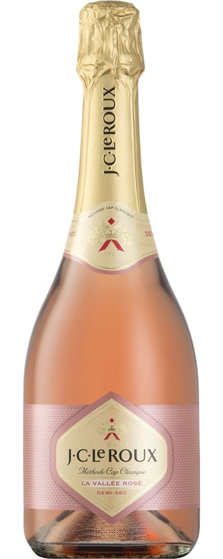 JC Le Roux La Vallee Rose Demi-Sec NV