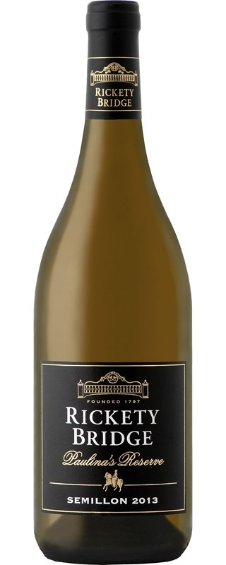 Rickety Bridge Paulina's Reserve Semillon 2013