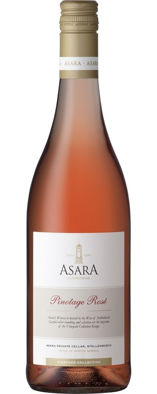Asara Vineyard Collection Pinotage Rose 2016