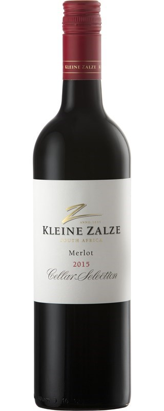 Kleine Zalze Cellar Selection Merlot 2015