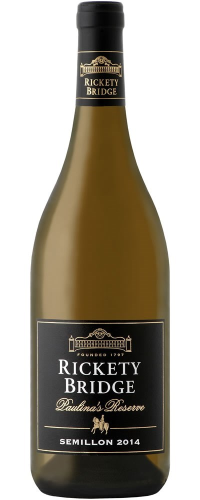 Rickety Bridge Paulina's Reserve Semillon 2014 - SOLD OUT