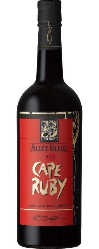Allee Bleue Cape Ruby 2015