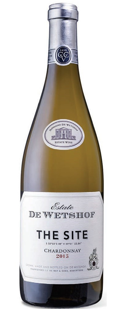 De Wetshof  'The Site' Chardonnay 2015