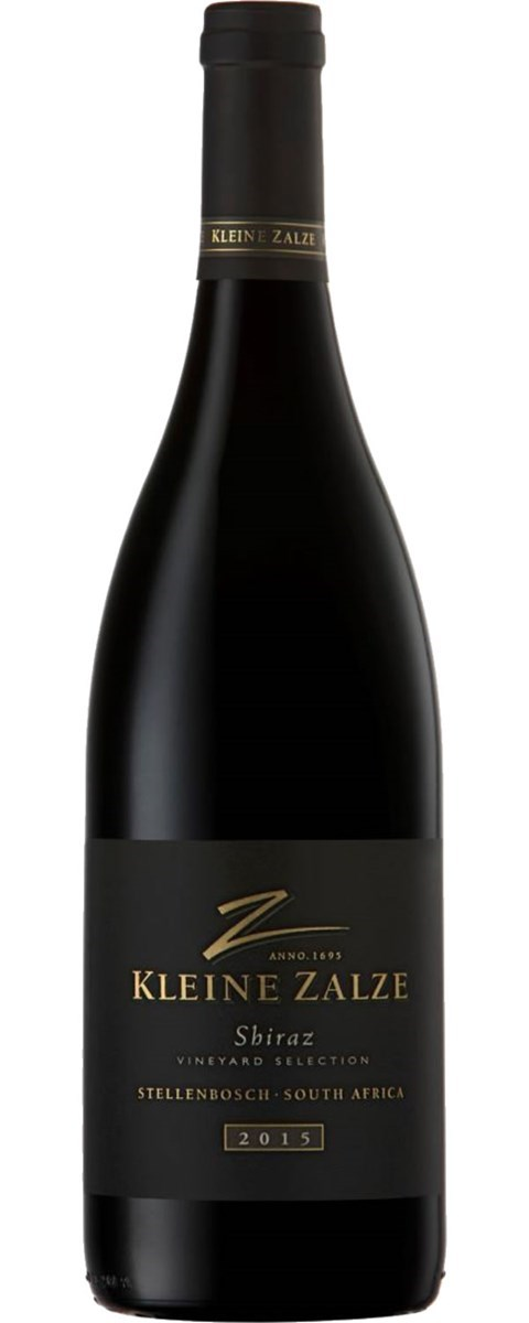 Kleine Zalze Vineyard Selection Barrel Matured Shiraz 2015