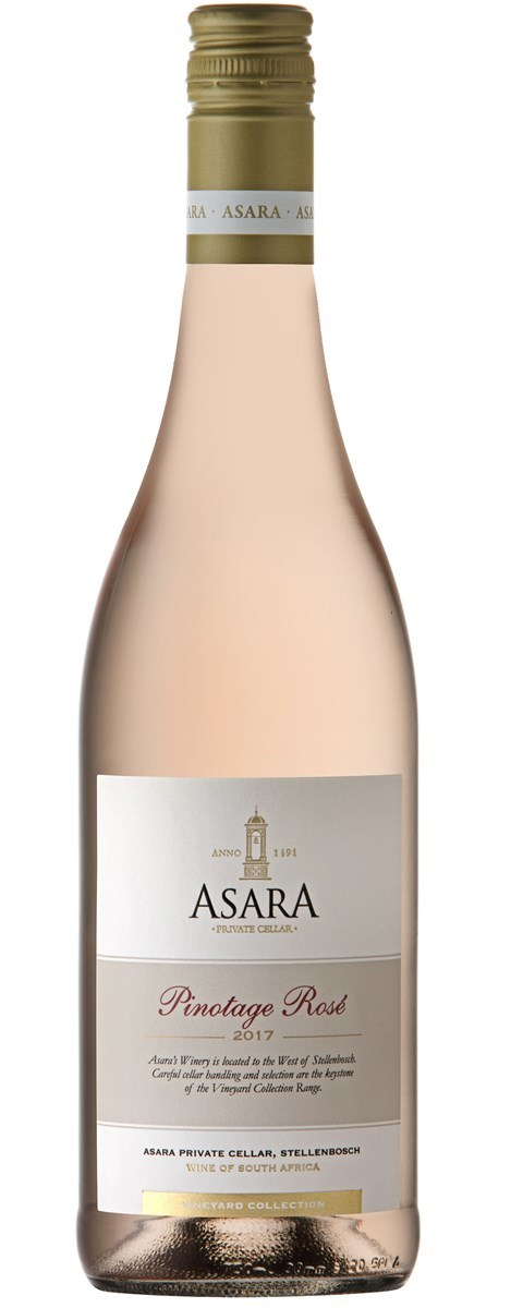 Asara Vineyard Collection Pinotage Rose 2017