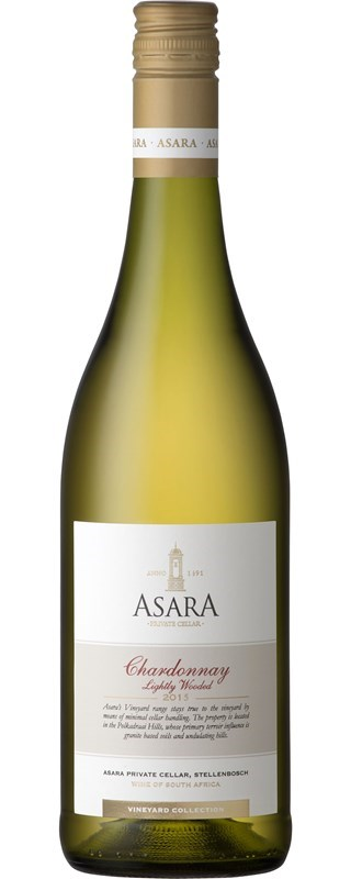 Asara Vineyard Collection Chardonnay Lightly Wooded 2015