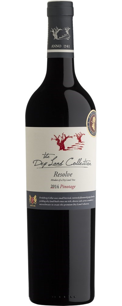 Perdeberg The Dry Land Collection Resolve Pinotage 2014
