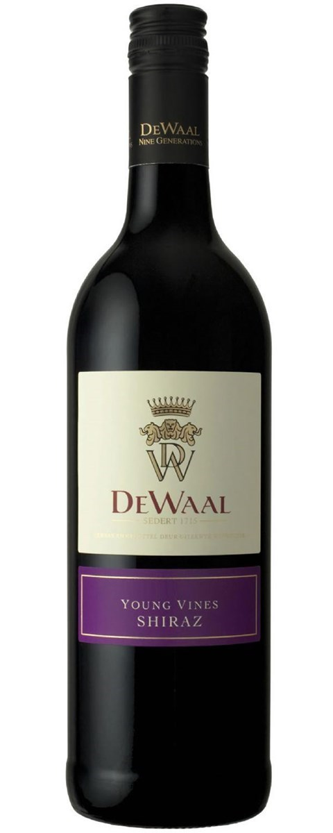 DeWaal Young Vines Shiraz 2016 - SOLD OUT