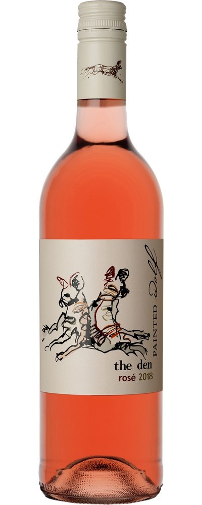 Painted Wolf the den, Pinotage Rose 2018
