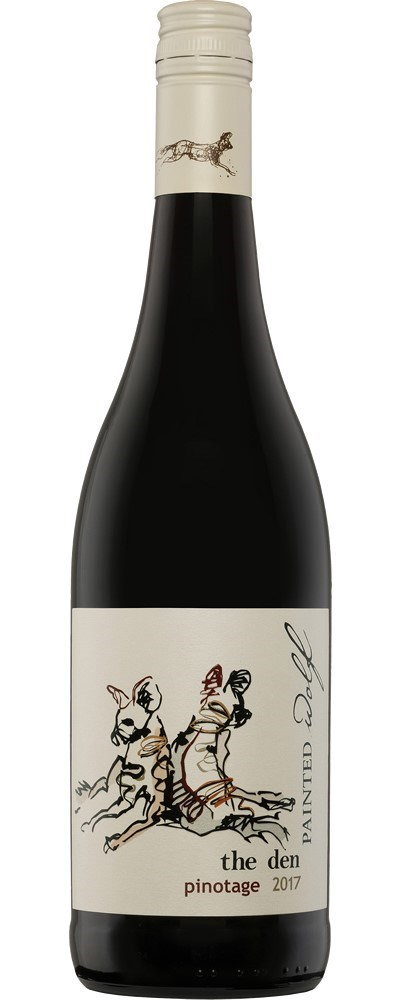 Painted Wolf the den, Pinotage 2017