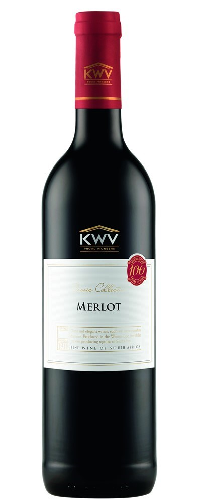KWV Classic Collection Merlot 2017