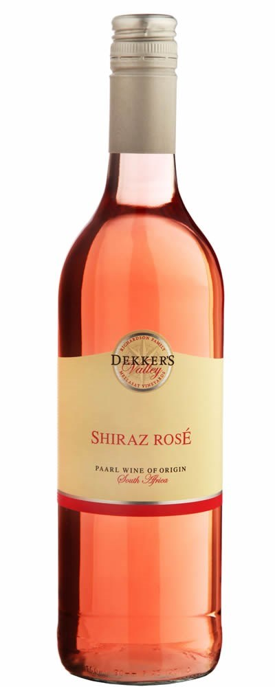 Dekker's Valley Shiraz Rosé 2017