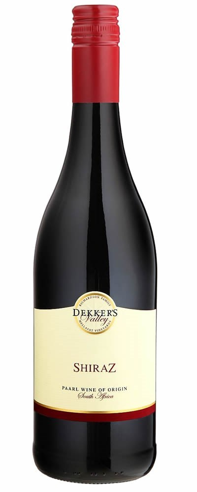 Dekker's Valley Shiraz 2015