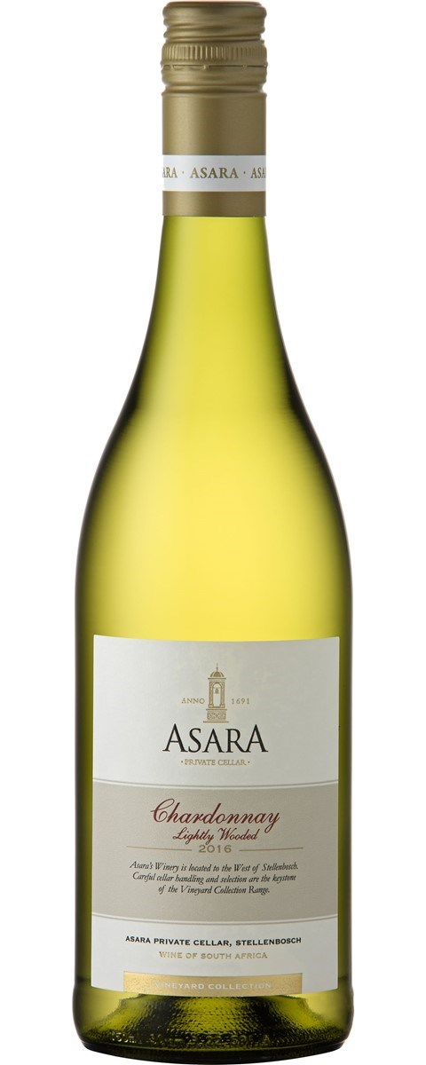 Asara Vineyard Collection Chardonnay Lightly Wooded 2016