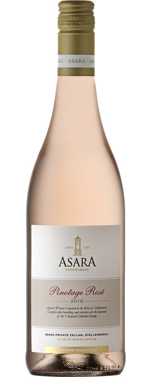 Asara Vineyard Collection Pinotage Rose 2018