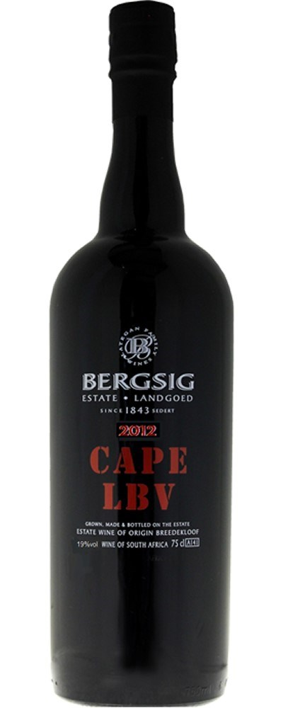 Bergsig Cape Late Bottled Vintage 2012