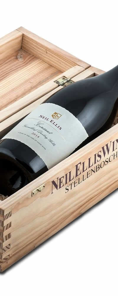 Neil Ellis Groenekloof Cinsaut 2015 Magnum in Wooden Box