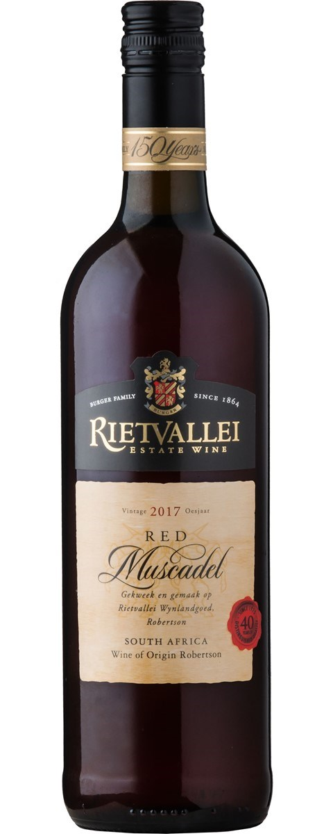 Rietvallei Estate Red Muscadel 2017