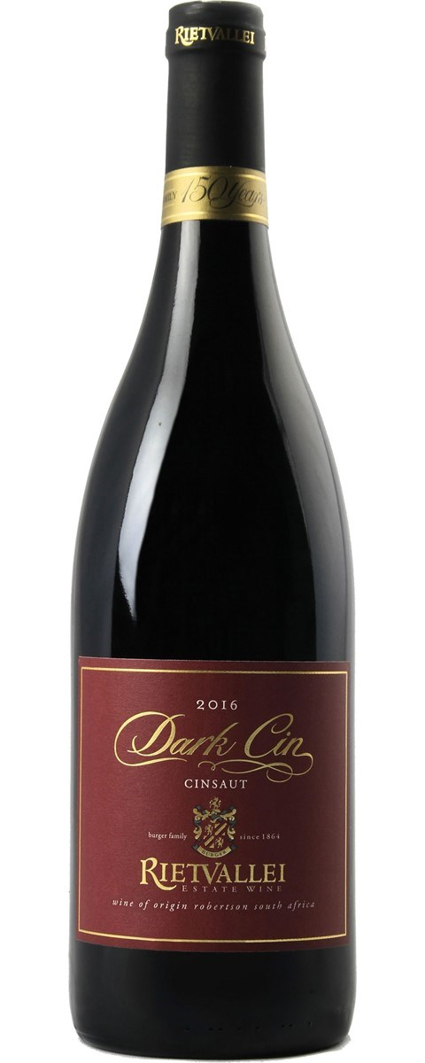 "Rietvallei Estate ""Dark Cin"" Cinsaut 2016"