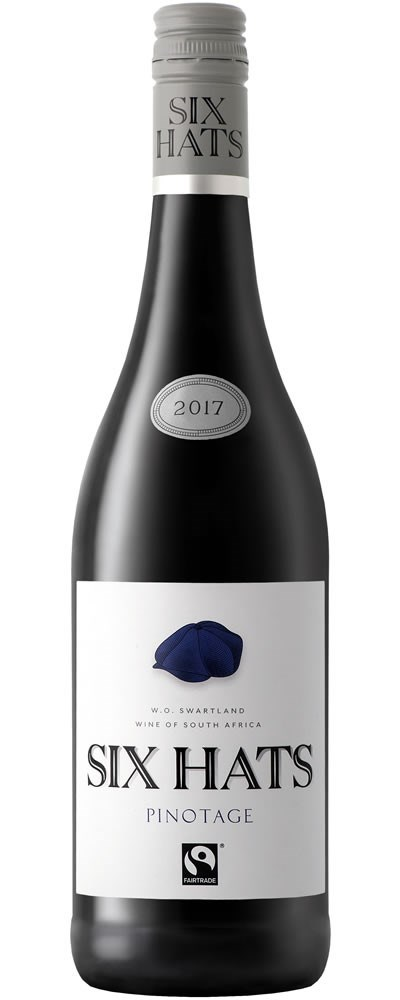 Six Hats Pinotage 2017