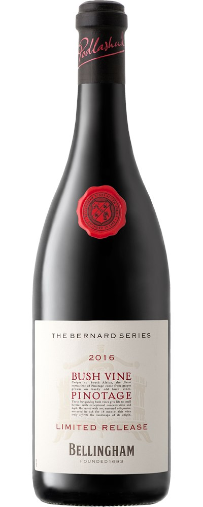 The Bernard Series Bushvine Pinotage NV