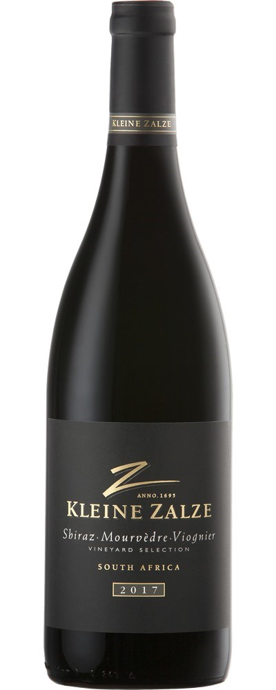 Kleine Zalze Vineyard Selection Shiraz  Mourvèdre Viognier 2017