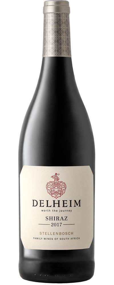 Delheim Shiraz 2017 - DISCONTINUED