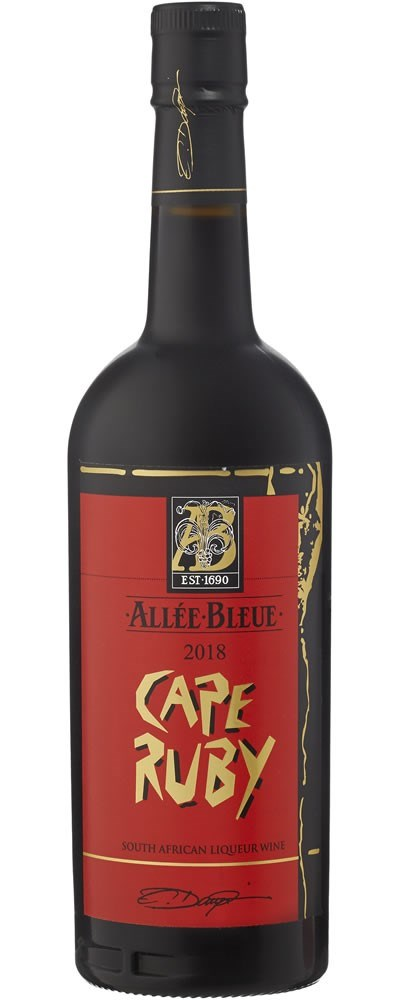 Allee Bleue Cape Ruby 2018