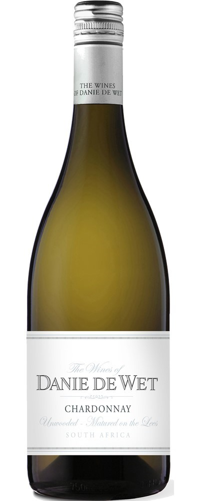 Danie de Wet Unwooded Chardonnay Sur Lie 2019