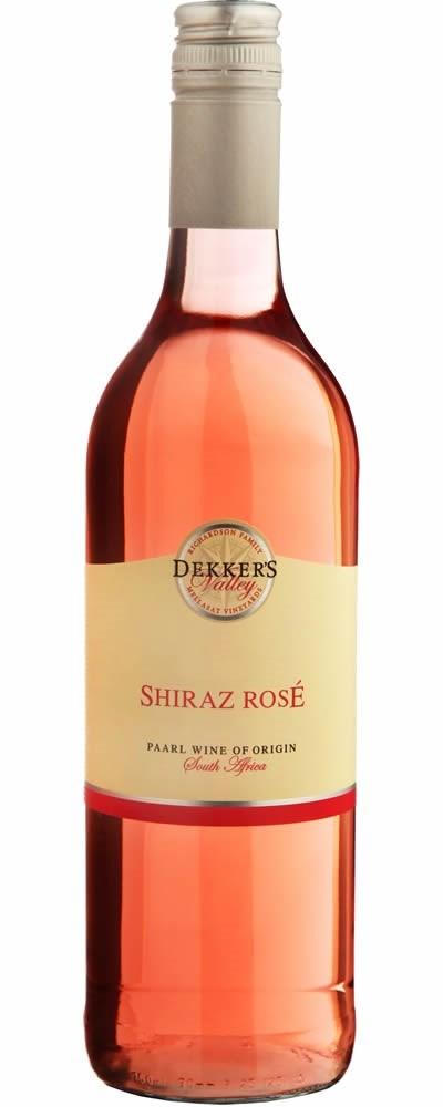 Dekker's Valley Shiraz Rosé 2018