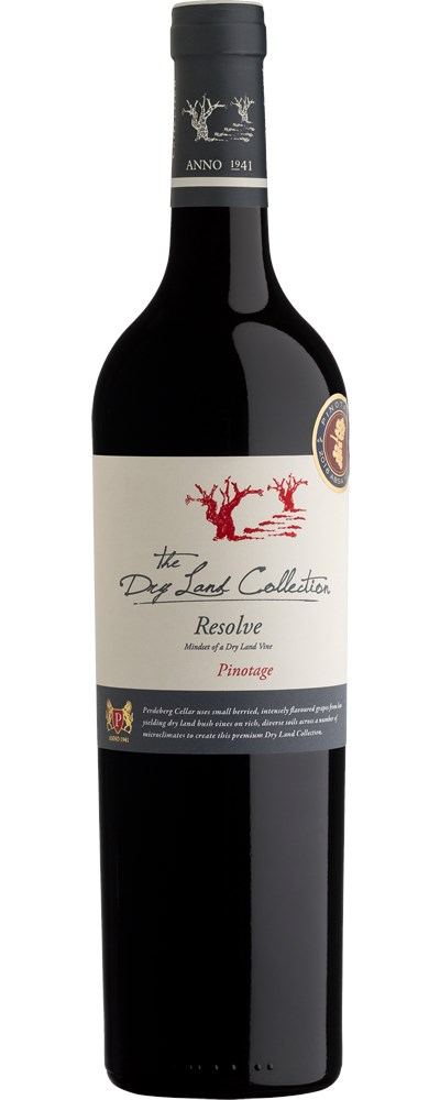 Perdeberg The Dry Land Collection Resolve Pinotage 2016