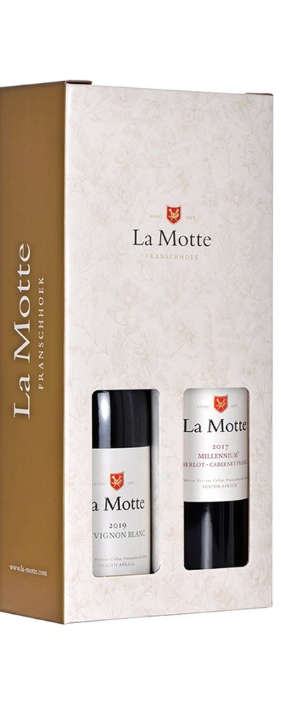 La Motte Sauvignon Blanc & Millennium twin pack box collection