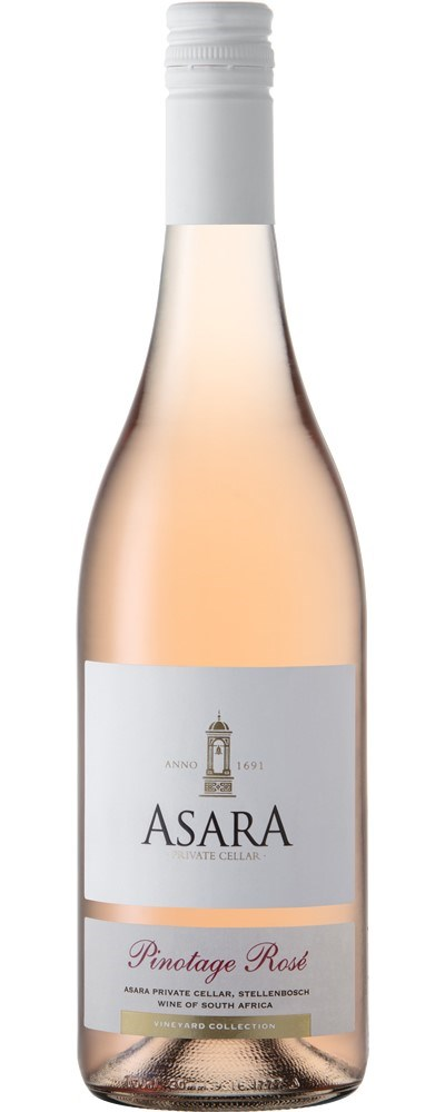 Asara Vineyard Collection Pinotage Rose 2019