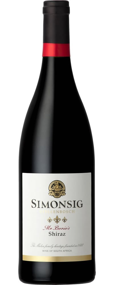 Simonsig Mr Borio's Shiraz 2017