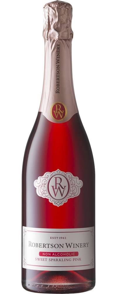 Robertson Winery Non Alcoholic Sparkling Pink NV