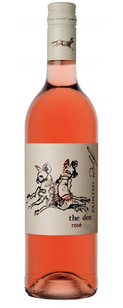 Painted Wolf the den, Pinotage Rose 2020